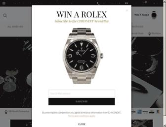 chronext.com screenshot