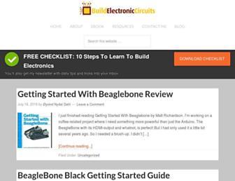 build-electronic-circuits.com screenshot