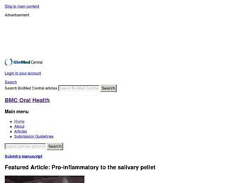 bmcoralhealth.biomedcentral.com screenshot