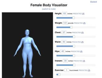 bodyvisualizer.com screenshot