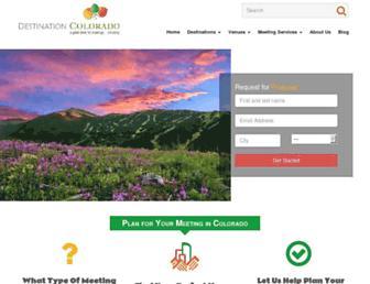 destinationcolorado.com screenshot