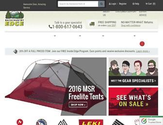 Thumbshot of Backcountryedge.com