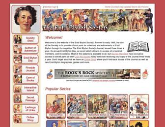 enidblytonsociety.co.uk screenshot