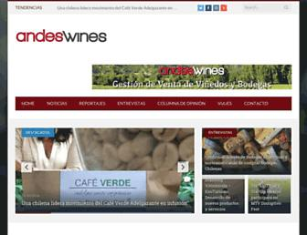 andeswines.com screenshot
