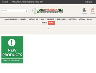 parapharmanet.com screenshot