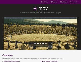 mpv.io screenshot