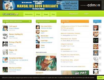 subcultura.es screenshot
