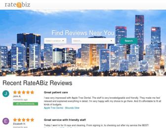 rateabiz.com screenshot