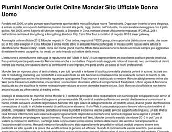 Main page screenshot of promo-franchising.it