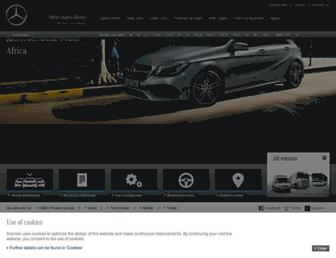 Thumbshot of Mercedes-benz.co.za