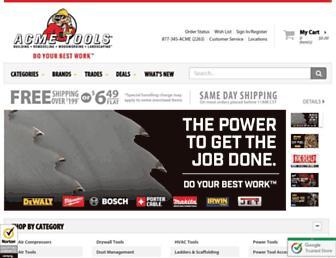 acmetools.com screenshot