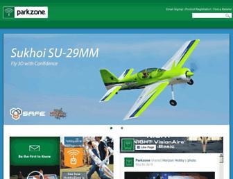 parkzone.com screenshot
