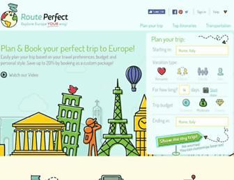 routeperfect.com screenshot