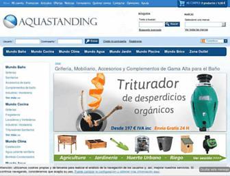 aquastanding.com screenshot