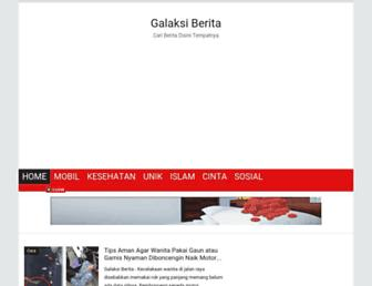 galaksiberita.blogspot.com screenshot