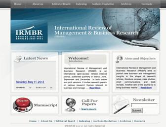 irmbrjournal.com screenshot