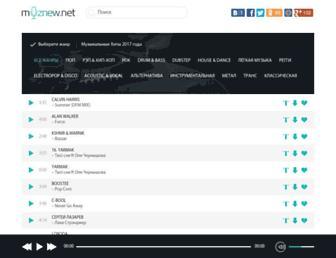 muznew.me screenshot