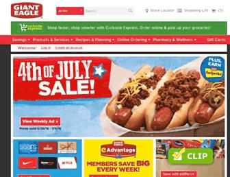 Thumbshot of Gianteagle.com