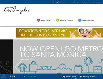 Thumbshot of Discoverlosangeles.com