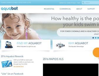 aquabot.com screenshot