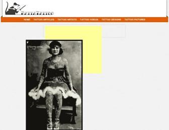 rattatattoo.com screenshot