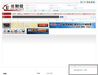 Main page screenshot of ugp.com.cn