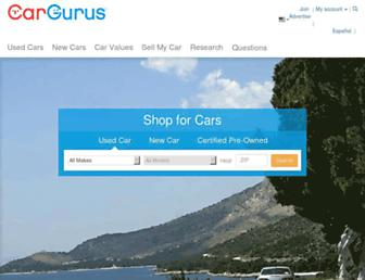 cargurus.com screenshot