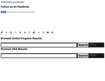 Thumbshot of Browse4.co.uk