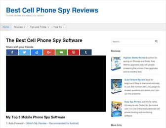 bestcellphonespyapps.com screenshot
