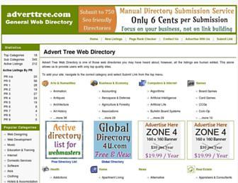 Thumbshot of Adverttree.com