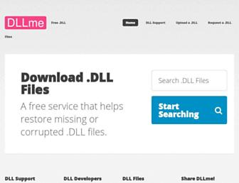 dllme.com screenshot
