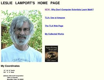 lamport.azurewebsites.net screenshot
