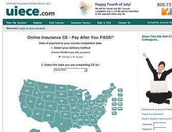 uiece.com screenshot