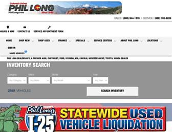 phillong.com screenshot