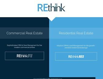 rethinkcrm.com screenshot