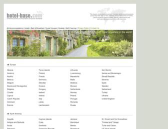 Screenshot for hotel-base.com