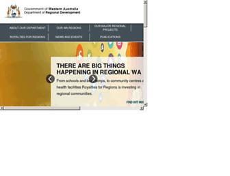 drd.wa.gov.au screenshot