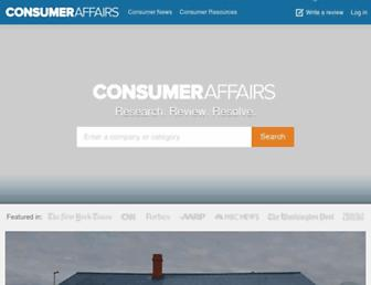 Thumbshot of Consumeraffairs.com