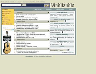 webusable.com screenshot