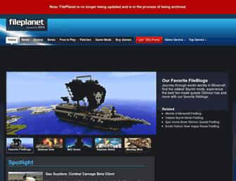 fileplanet.com screenshot