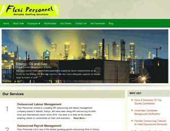 flexi-personnel.com screenshot
