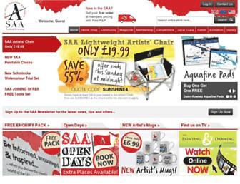 Thumbshot of Saa.co.uk