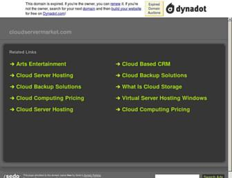 Thumbshot of Cloudservermarket.com