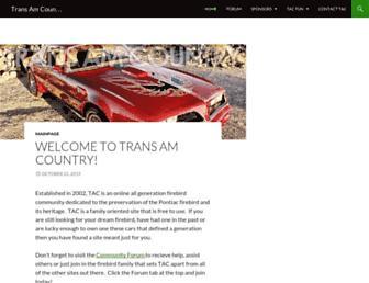 transamcountry.com screenshot