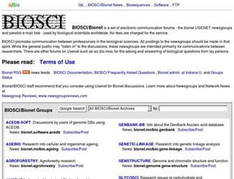 bio.net screenshot