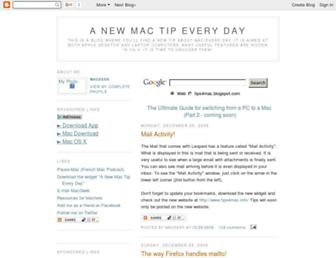 tips4mac.blogspot.com screenshot
