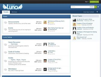 forum.celestialuna.com screenshot