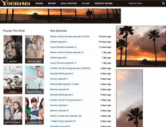Thumbshot of Yodrama.com