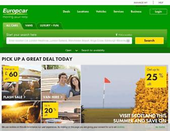 Thumbshot of Europcar.co.uk