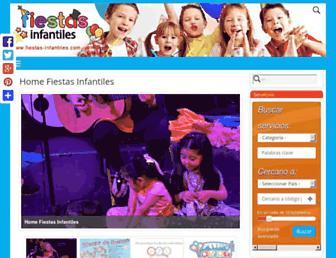 fiestas-infantiles.com screenshot